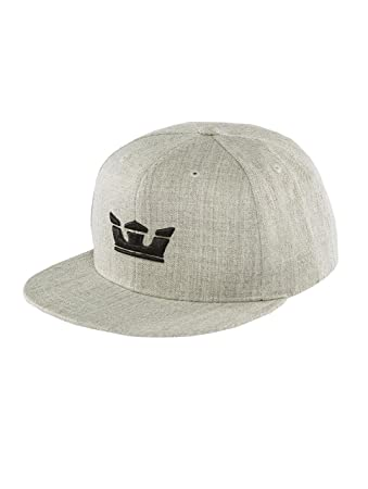 Supra Men Caps Snapback Cap Icon Snapback Grey Adjustable  Amazon.co ... 876bcb31bf