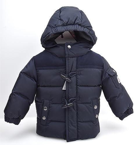 ced7b9b5fb4da MONCLER JUNIOR BABY BOY PADDED JACKET DARK BLUE CODE PUS005 N0C97 40049 6 9  MESI-MONTHS (67 CM) BLU SCURO - DARK BLUE  Amazon.co.uk  Shoes   Bags