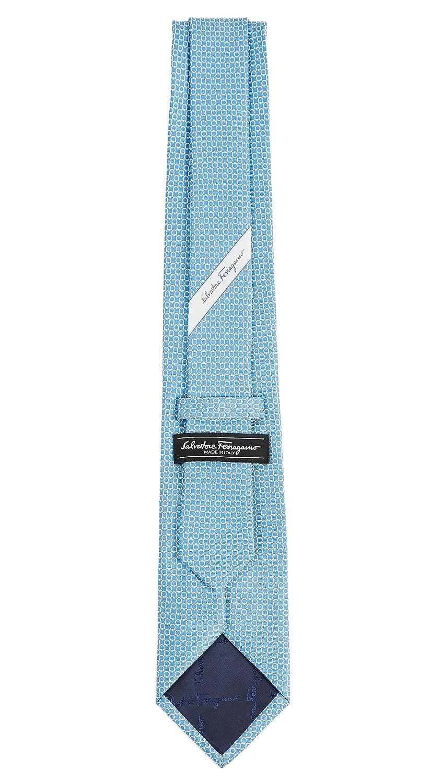 500b9edf0e41 Salvatore Ferragamo Men's Energia Tie, Blue, One Size at Amazon Men's  Clothing store: