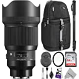 Sigma 85mm f/1.4 DG HSM Art Lens for Sony E Mount Cameras w/Advanced Photo and Travel Bundle