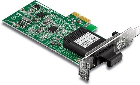 Amazon.com: Trendnet Perfil Bajo 100Base SC Fiber PCIe ...