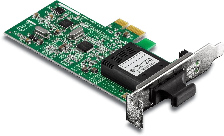 TRENDnet TE100-ECFXL - Tarjeta de Red (PCI-E, Conector SC, 200 ...