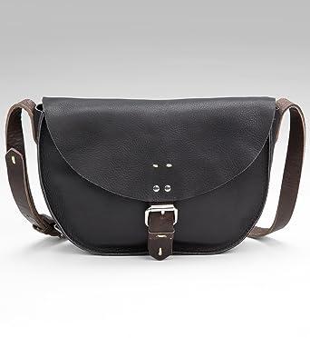 fb1fc5ab5e0 Autograph Leather Saddle Cross Body Bag: Amazon.co.uk: Clothing