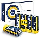 Allmax A23 12V Maximum Power Alkaline Batteries (5 Count) – Ultra Long-Lasting 12 Volt 23A Battery – Leak-Proof, Zero Mercury