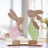 Victor's Workshop Decoración de Madera de Pascua Conjunto
