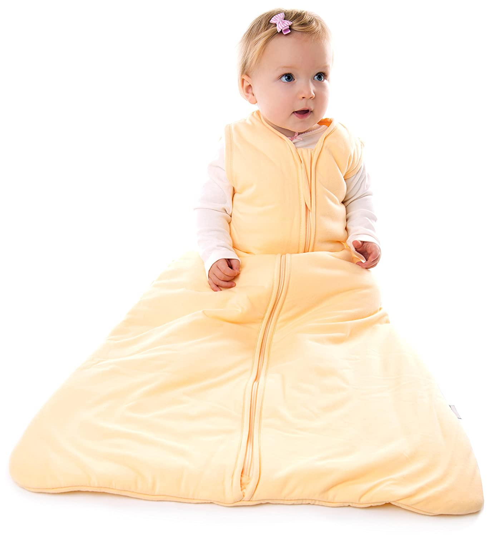 Rosa Schlummersack Babyschlafsack Fr/ühjahr//Sommer 1.0 Tog Neugeborene 56 cm