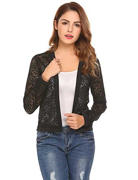Amazon.com: Mofavor - Chaqueta para mujer, estilo casual de ...