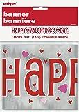 حقائب هدايا عيد الحب بنمط قلوب ساطعة, Foil Banner