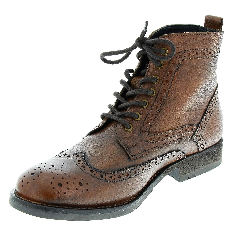 Marc Shoes Herren Joe Klassische Stiefel Braun Cow Thunder Cognac 00686