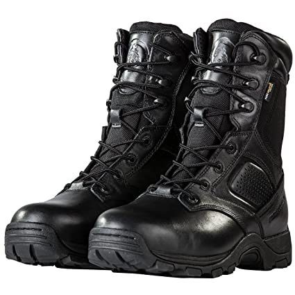 3bda2cf7ffff2 FREE SOLDIER Steel Toe Work Boots for Men Waterproof Insulated Composite  Boots Tactical Combat Boots