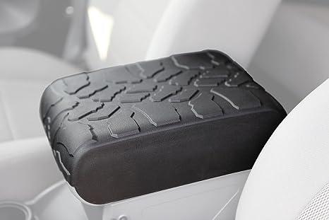 Exceptional 2007 2010 Jeep Wrangler (JK) Tire Tread ArmPad   Center Console Cover