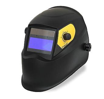 Stanley 460413 - Casco de seguridad para soldar (LCD, DIN 9-13)