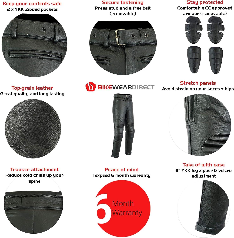 Grau,DE 50 Lang Weite 34 L/änge 34 Large JET Motorradhosen Textilhose Wasserdicht Winddicht Mit Protektoren