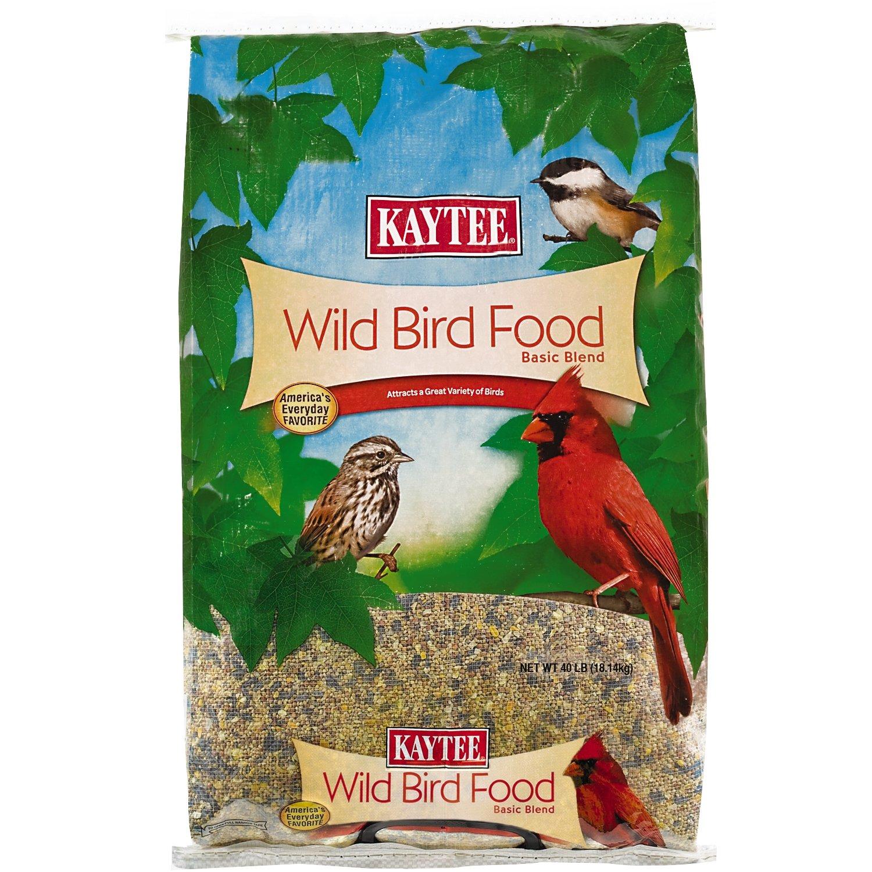 Kaytee Wild Bird Food, 40 Pound by Kaytee