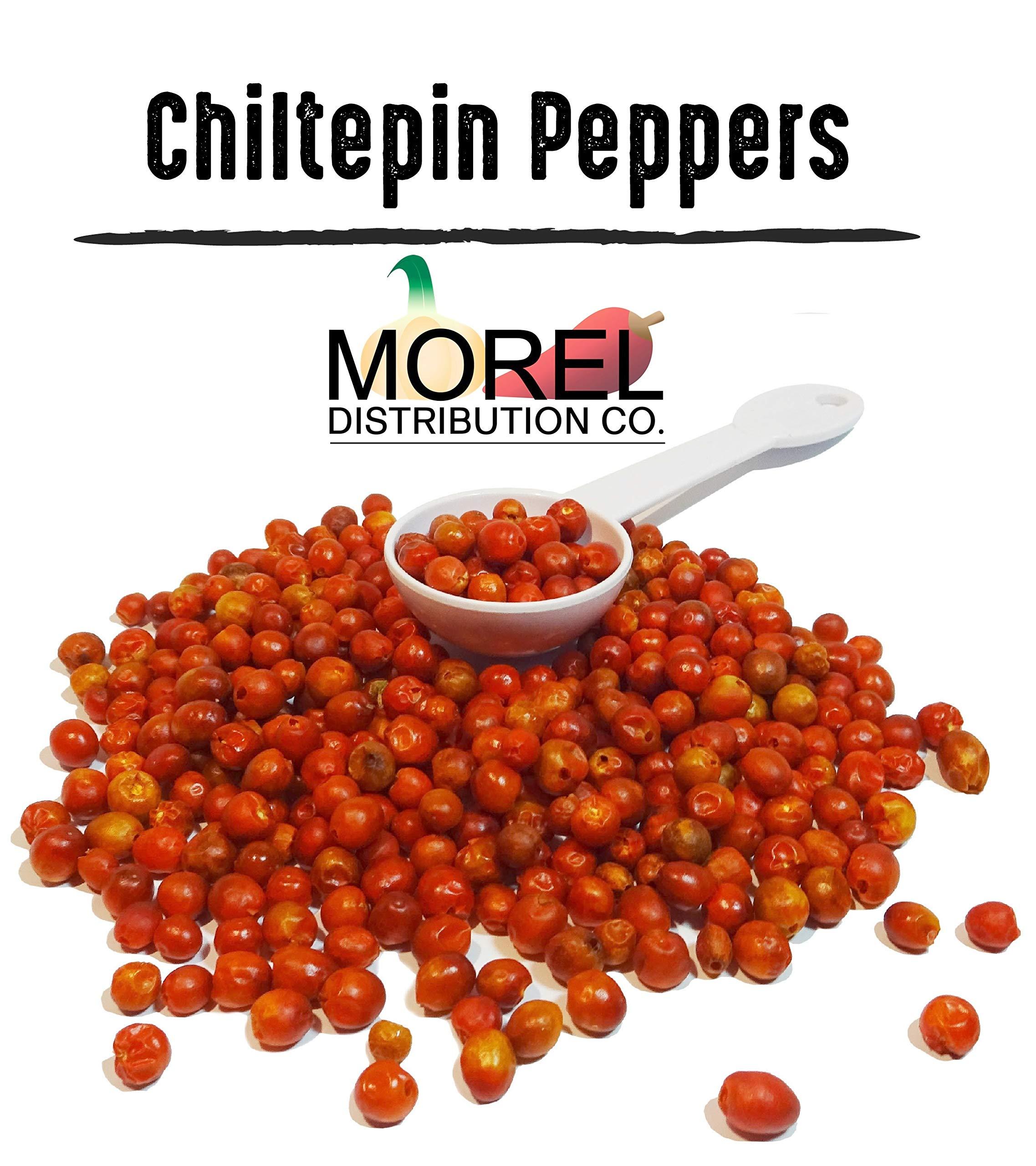 Dried Chiltepin Peppers (Chili Tepin) // Weights: 8 Oz, 12 Oz, 1 Lb, 2 Lbs & 5 LBS!! (5 LBS)