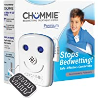 Chummie Premium Bedwetting Alarm for Deep Sleepers – Award Winning, Clinically Proven System with Loud Sounds, Bright Lights and Strong Vibrations, Blue