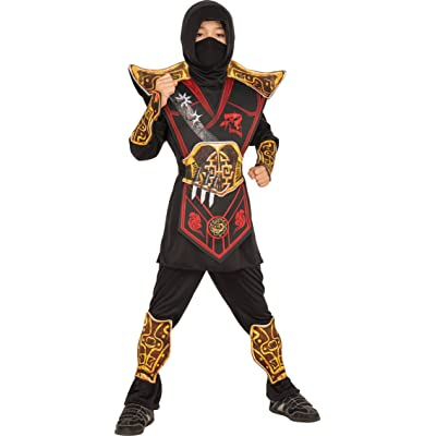 Rubie's Child's Battle Ninja Costume, Small: Toys & Games