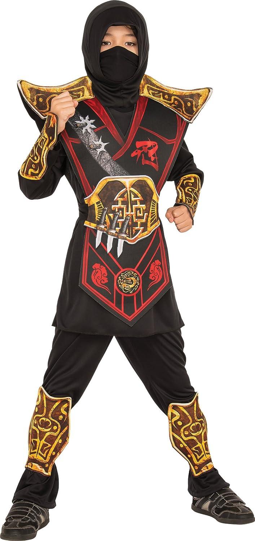 Rubies Childs Battle Ninja Costume, Small