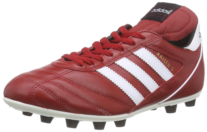 adidas Kaiser 5 Liga Mens Football Boots Soccer Cleats B00Q2SSRTA 9 D(M) US Red Black White B34254