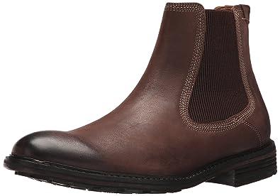 G.H. Bass & Co. Men's Hendrick Chelsea Boot Dark Brown 7 M US