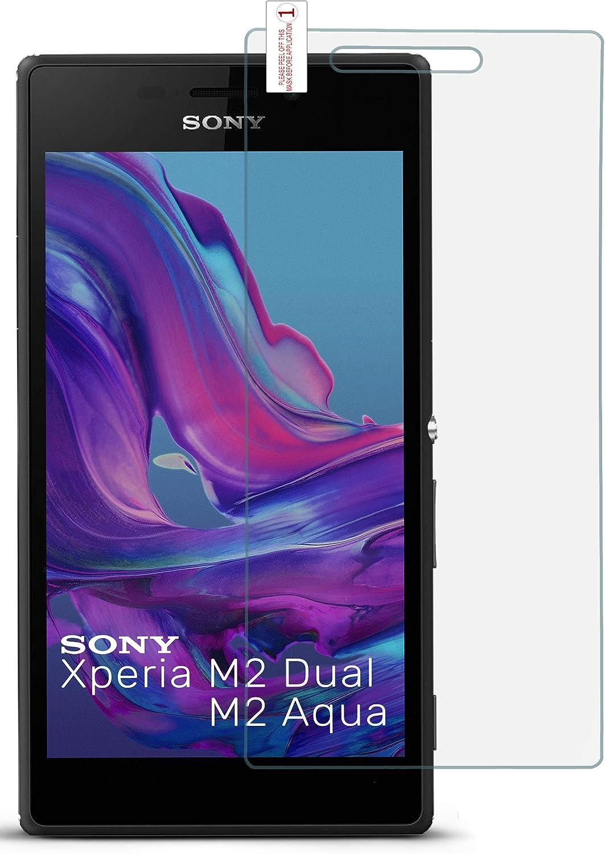 OneFlow Cristal extrafuerte para Sony Xperia M2 / M2 Aqua Lámina ...