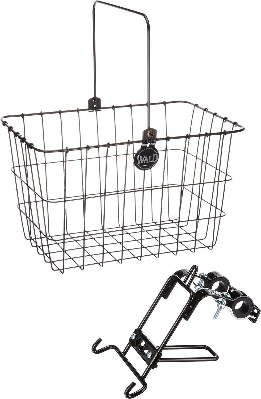 Front Quick Release Bicycle Basket Black Bolt On Clamp Handlebar Holder Ideal