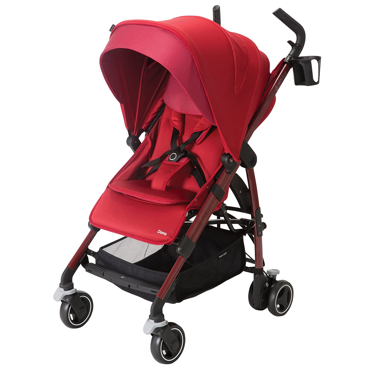 Maxi-Cosi Dana Stroller, Red Rumor by Maxi-Cosi: Amazon.es: Bebé