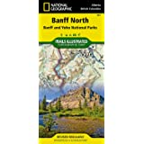 Trails Illustrated Map, No. 901: Banff North - Scale = 1:100,000