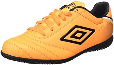 Umbro Classico V IC Bota, Hombre, Naranja (Orange Pop/White/Black), 42