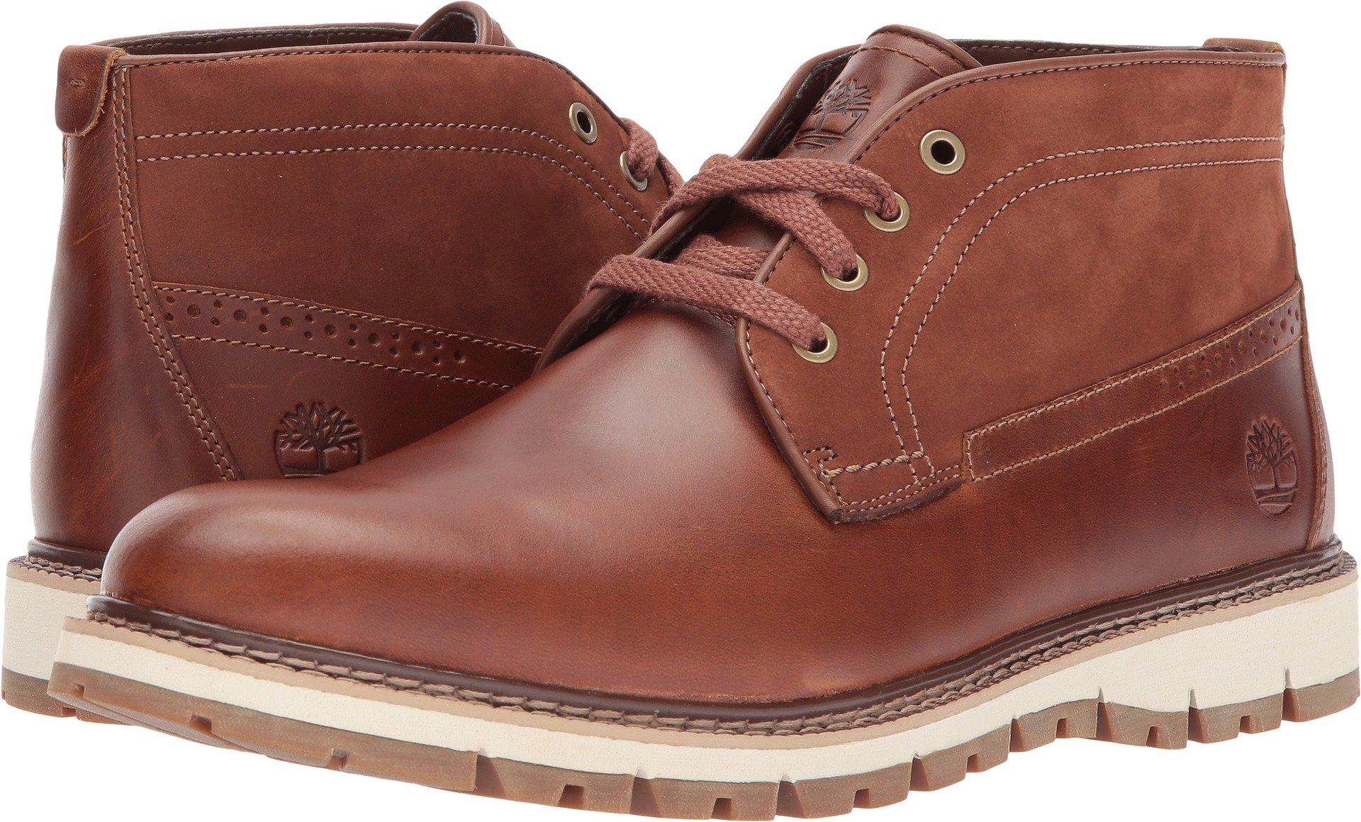 Timberland Britton Hill Chukka Boot - Men's Medium Brown Full Grain, 10.0