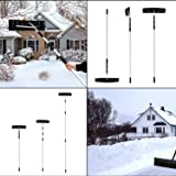 Peach Tree 21-Feet Telescoping Snow Roof Rake