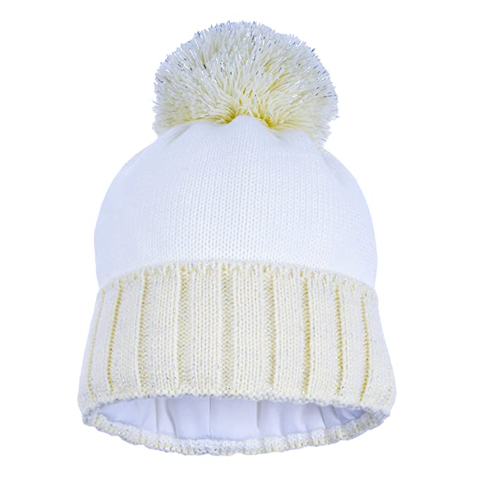 c63d3b4fccc78 Kid Winter Hat Pom - Winter Hats for Girls - Watch Knit Hat Scarf for Kids