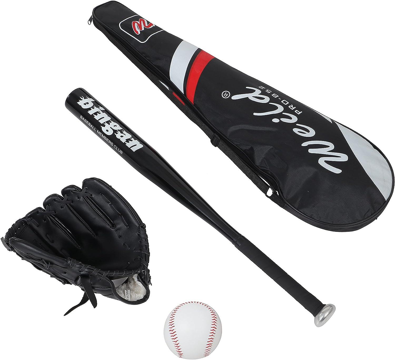 Kit de béisbol compuesto por bate de aluminio, guante de piel ...