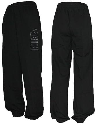 Nike 467115 - Pantalones de chándal para hombre negro negro Talla ...