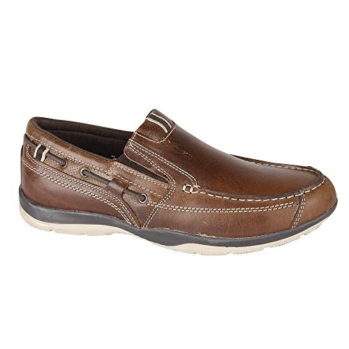 Private Brand Hombre zapato Slipper Guantes Piel Auténtica Tamaño, color, talla 44 EU / 10 UK: Amazon.es: Zapatos y complementos