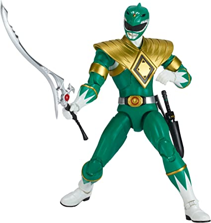 POWER RANGERS MIGHTY MORPHIN LEGACY 6.5 INCH WHITE RANGER ACTION FIGURE