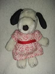 Peanuts United Feature Syndicate 1968 Plush Snoopys Sister Snoopy Belle Approximately 10 Inches