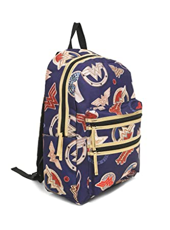 cfedd90752 Amazon.com | Wonder Woman Backpack DC Comics | Kids' Backpacks