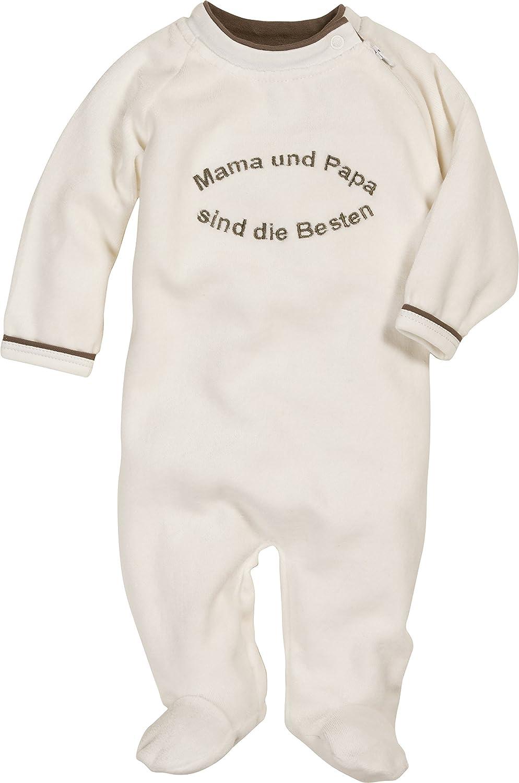 Schnizler Unisex Baby Schlafstrampler Oeko-Tex Standard 100 Beige (Natur 2) 74 Playshoes GmbH