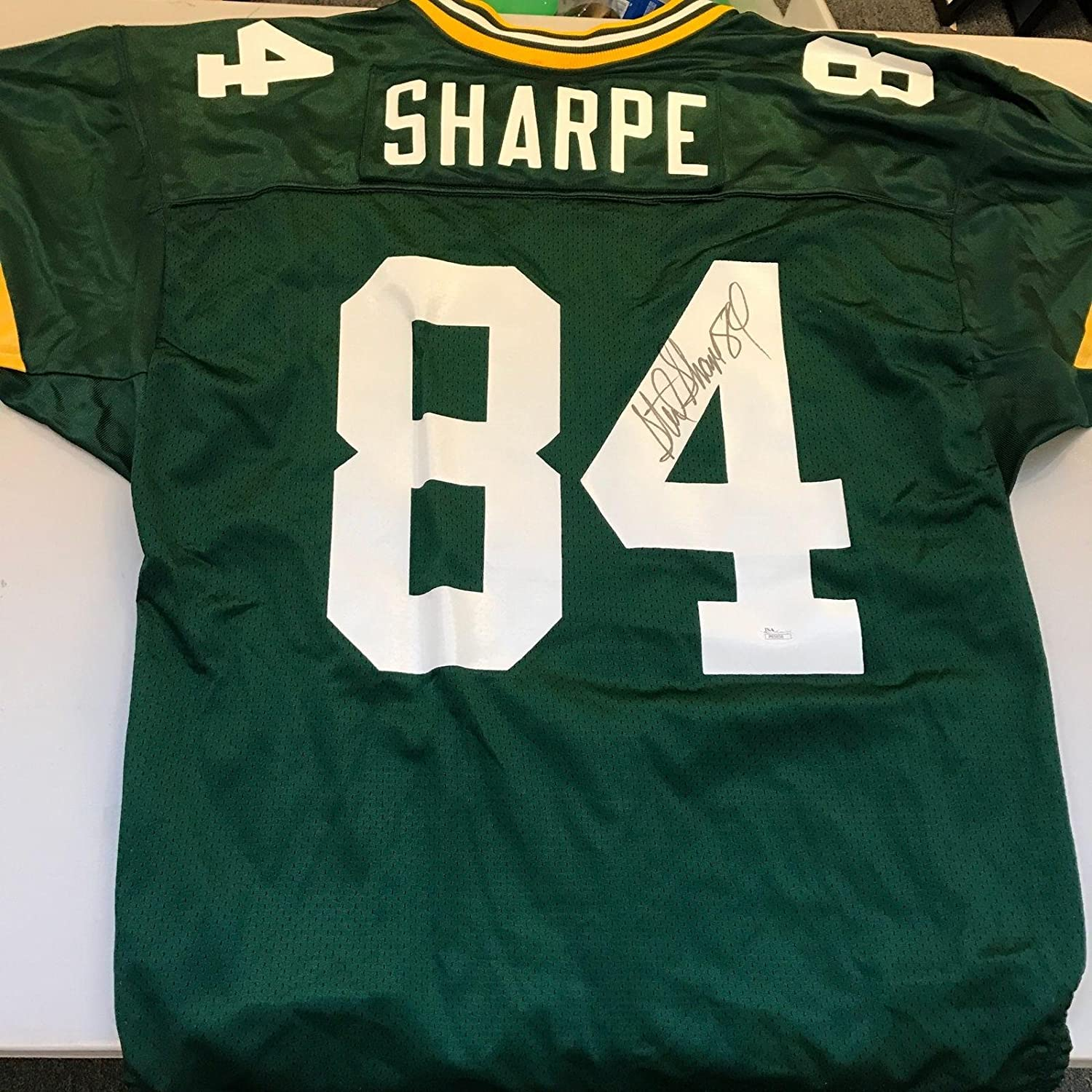 225416f09 Amazon.com  Signed Sterling Sharpe Jersey - 1994 Game Model COA - JSA  Certified - Autographed NFL Jerseys  Sports Collectibles