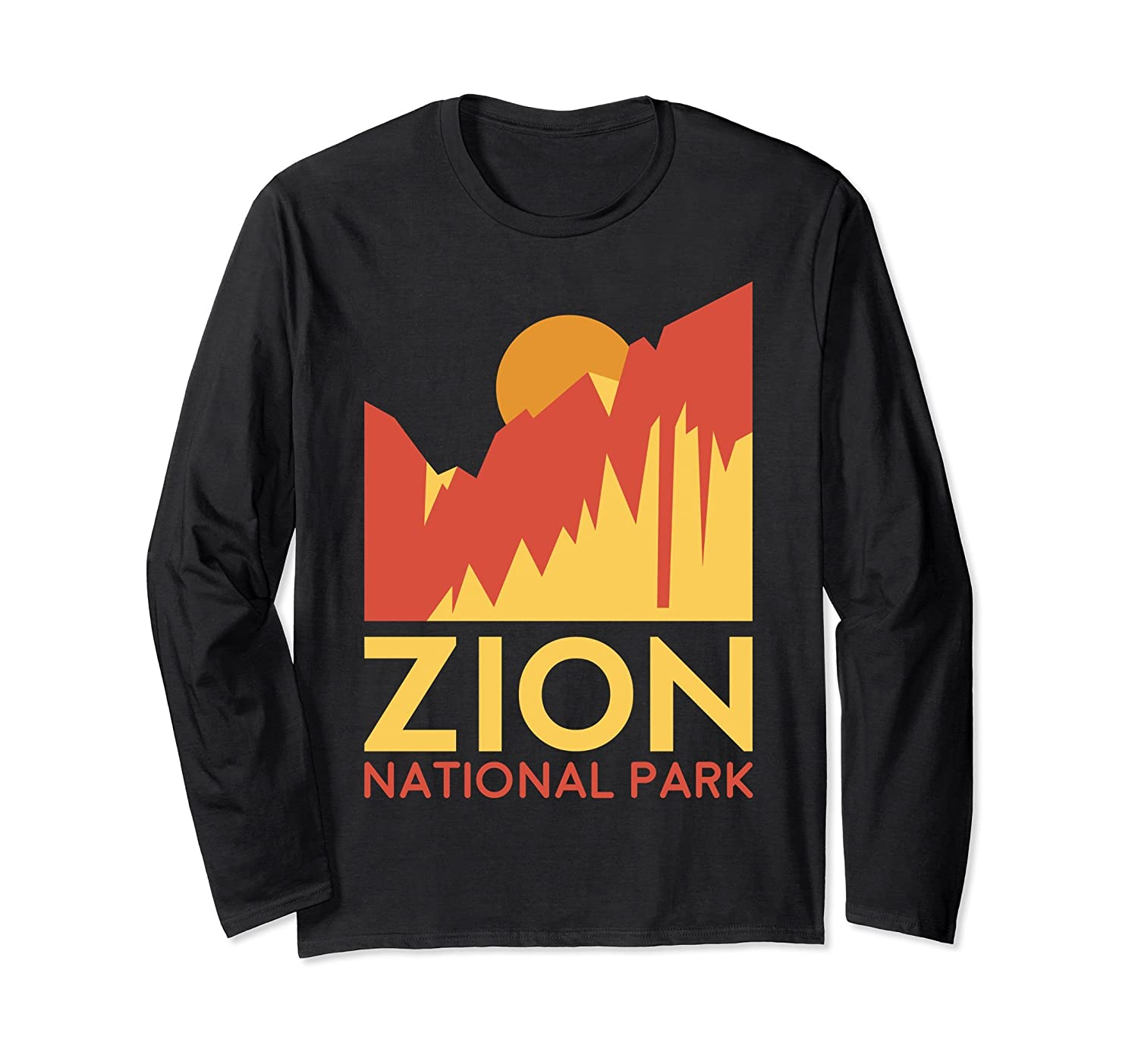 Zion National Park Long Sleeve Shirt -Outdoor Camping Hiking-ah my shirt one gift
