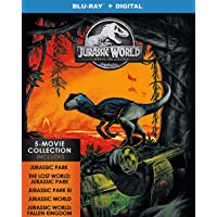 Jurassic World: 5-Movie Collection Blu-ray + Digital