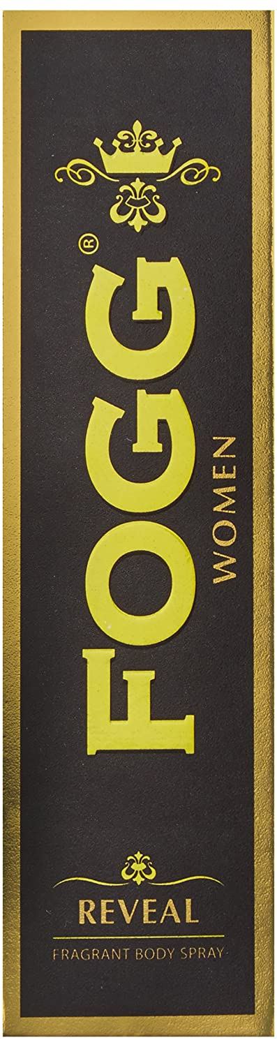 Fogg Fresh Deodorant Reveal Black Series for Women, 120ml