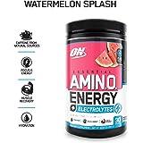 Optimum Nutrition Essential Amino Energy Plus Electrolytes Watermelon Splash, 30 Servings, 285G