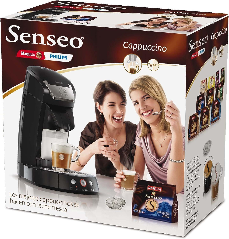 Philips HD7853/61 Senseo Cappuccino - Cafetera de monodosis ...