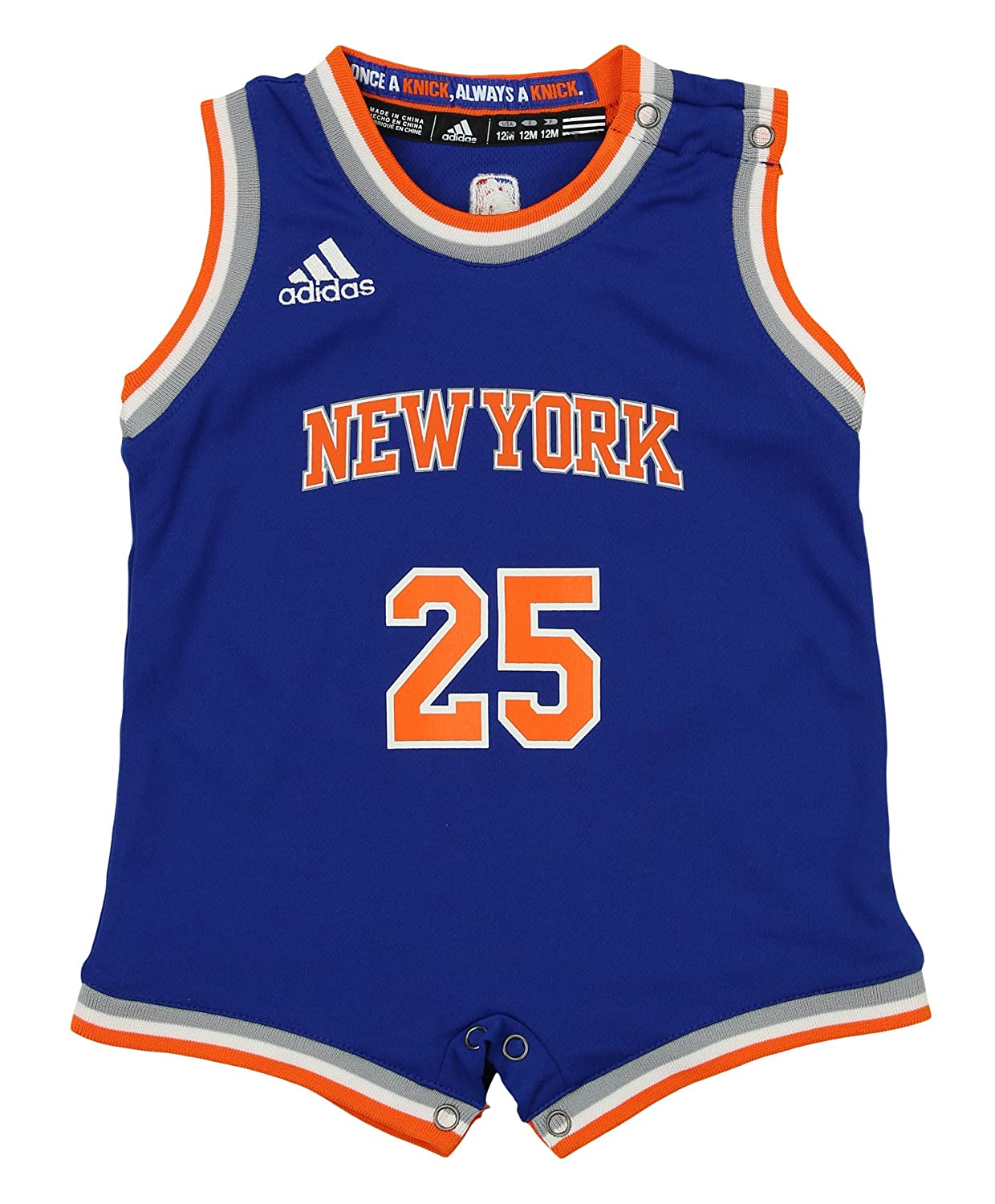 3a6ddf63d Amazon.com  adidas NBA Infant s New York Knicks Derrick Rose Replica  Onesie