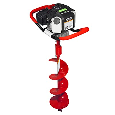 "Earthquake 2-cycle Powerhead and 8"" Auger Combo"
