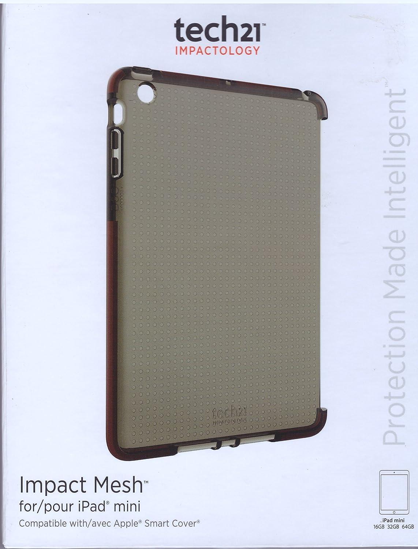 buy online 0eaf7 f78fd Tech21 T21-3088 Impact Mesh Case for Apple iPad Mini, smokey