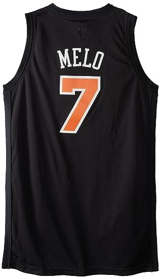 Buy NBA Men's New York Knicks Carmelo Anthony Black Swingman