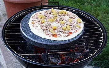 Weber Holzkohlegrill Pizzastein : Universal pizzastein rund cm durchmesser natürlicher backstein